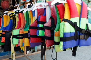 Palm Beach Water Sports safety vests